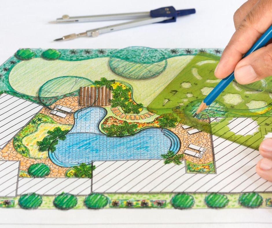 Landscape Design Services - Greenhouse to Garden